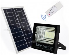 Led Προβολέας με Solar...