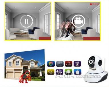 Ασύρματη IP Camera με νυχτερινή λήψη